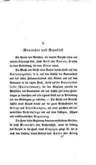Deutschlands Verjüngung : ein Wort der Belehrung über Republik und constitutionelle Monarchie an den deutschen Mittelstand