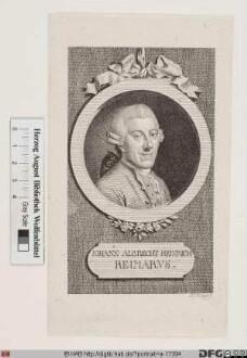 Bildnis Johann Albert Heinrich Reimarus