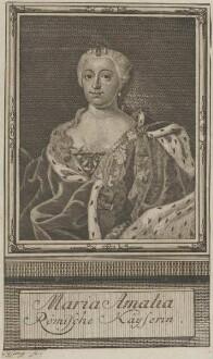 Bildnis von Maria Amalia, Römische Kayserin