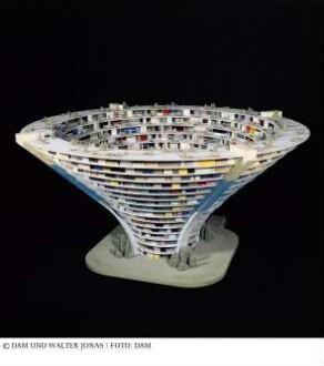 Intrapolis - Modell des Gesamtgebäudes