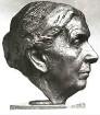 Porträtkopf der Mutter des Künstlers