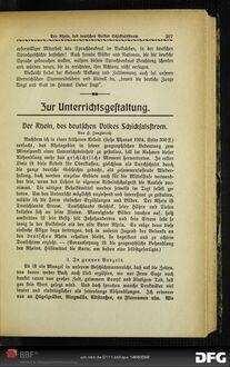 Der Rhein, des deutschen Volkes Schicksalsstrom