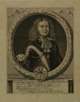 Brand, Joachim Friedrich aus Lindau, hochf. Anhält. Hofmarschall