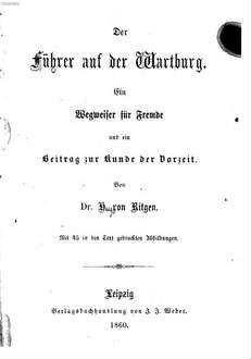 ˜Derœ Führer auf der Wartburg