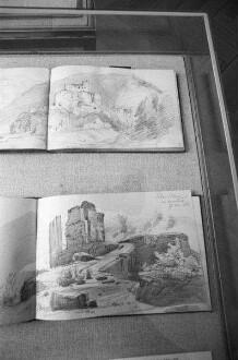 Literarische Gesellschaft /Scheffelbund - Ausstellung zum 160. Geburtstag Joseph Victor von Scheffels im Oberrheinischen Dichtermuseum