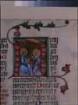 Podiebradscher Psalter, fol. 95r, Initiale mit Text