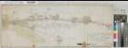 Schwelm (Schwelm) - Rittershausen (Wuppertal-Oberbarmen) - (Grenze zum Herzogtum Berg) - Grundstücksentschädigung beim Straßenbau - 1794 - 200 Ruten = 15 cm - 34 x 91 - kol. Zeichnung - F. W. Steinmeister jun. - KSA Nr. 1021