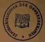 Stempel / Zentralbibliothek der Gewerkschaften <Berlin, Ost> [Zentralbibliothek der Gewerkschaften FDGB]