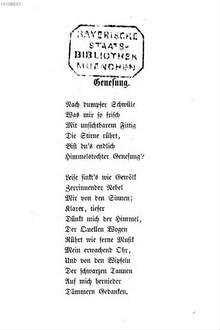 Neue Gedichte Von Emanuel Geibel Deutsche Digitale Bibliothek