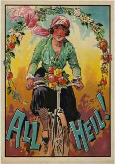 All Heil ! (Radfahrerin)
