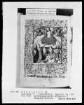 Niederländisches Stundenbuch (Handschrift der Brüder vom gemeinsamen Leben) — Jüngstes Gericht im Bordürenrahmen, Folio 109verso