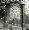 Innerer Neustädter Friedhof, Conradstraße, Friedensstraße; Grabmal der Familie Ottomar Lehmann