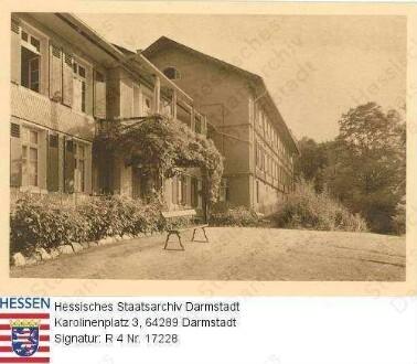 Seeheim an der Bergstraße, Schloss Seeheim / Gartenansicht