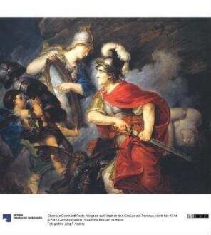 Allegorie auf Friedrich den Großen als Perseus
