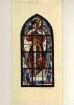 Entwurf für ein Glasfenster in der Michaeliskapelle in der Katholischen Kirche in Deidesheim