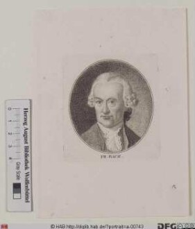 Bildnis Wilhelm Friedemann Bach
