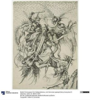 Der Heilige Antonius, von Dämonen geplagt (Versuchung des Hl. Antonius)