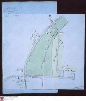 Plan einer Wiese an der Straße von Ober-Mossau nach Unter-Mossau
