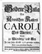 Goldene Bulla des Röm. Kaisers Caroli IV., welche zu Nürnberg und Metz im J. 1356 ist gemacht worden : Nebst einem Register