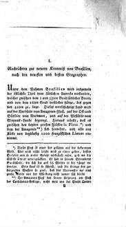 Archiv für den Zirkel nützlicher Wirksamkeit unter Menschen. 1,1. (1803)