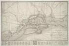 Plan von Magdeburg, 1:12 500, Radierung, 1809