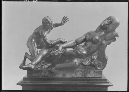 Nymphe und Faun