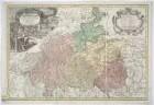 Karte von dem Herzogtum Schweidnitz, 1:120 000, Kupferstich, 1736