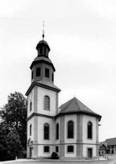 Schlosskirche von Westen