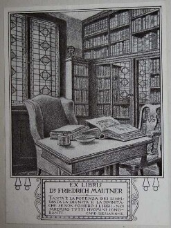 Mautner, Friedrich / Exlibris