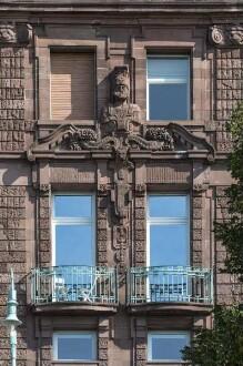 Außenaufnahme - Fassadendetail