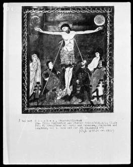 Psalterium des Grafen Eberhard von Murach-Ebersberg — Kreuzigung Christi