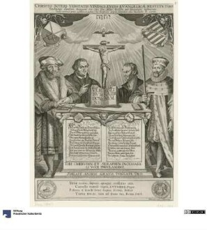 Flugblatt zum 100-jährigen Jubiläum des Thesenanschlags 1617