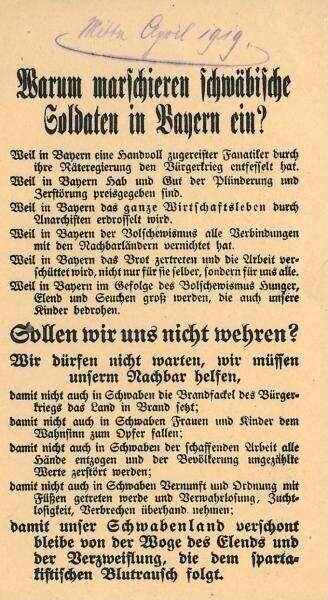 Warum Marschieren Schwäbische Soldaten In Bayern Ein