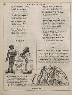 "Fliegende Blätter: ""Sentimentale Jurisprudenz"""