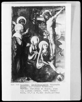 Die sieben Schmerzen der Maria — Christus am Kreuz