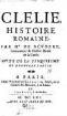 Clélie : histoire romaine. [10]. 5. et dernière partie, Suite. - 1661