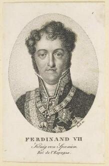 Bildnis des Ferdinand VII, König von Spanien