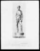 Der Maler Otto Brandt. Statuette
