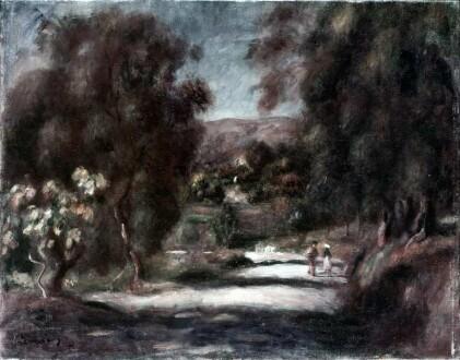 Landschaft bei Cassis