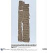 Demotischer Papyrus, Hochformatbrief u.a. über 50 Artaben Emmer