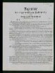 """Informationsblatt der """"Agentur der regelmäßigen Postschiffe zwischen Havre und New-York"""""""