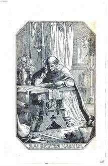 ˜Derœ selige Albertus Magnus aus dem Dominikaner-Orden, Bischof von Regensburg