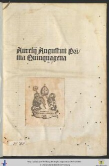 Explanatio psalmorum : P. 1-3 nebst Tab
