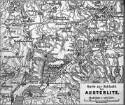 Geographische Karte zur Schlacht bei Austerlitz
