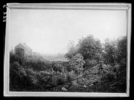Landschaft mit Gärten