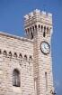 Turm des Fürstenschlosses der Grimaldis