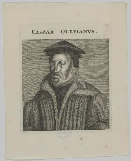 Bildnis des Caspar Olevianvs