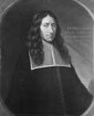 Bildnis des Heinrich May, 1669-1682 Professor der Medizin in Marburg (1632-1669)