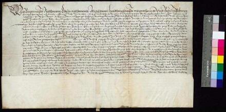 Bürgermeister und Rat der Stadt Bautzen leihen sich von Caspar Peucer (Caspar Peuczern), Professor an der Universität Wittenberg 1.200 Taler gegen einen jährlichen Zins von 60 Talern, der zum Leipziger Michaelismarkt zu entrichten ist. Auf der Urkunde wurde nachträglich notiert, dass die Schuld am 23. Februar 1604 abgelöst wurde.