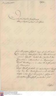 Esser, J[oseph Ignaz], Preußischer Regierungsrat in Arnsberg